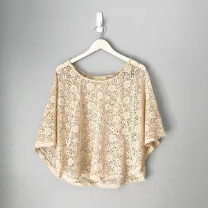 Urban Outfitters Staring At Stars boho poncho top